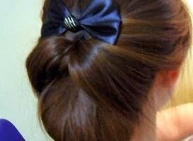 Cara Mengikat Rambut Pendek Dengan Kreasi Sanggul Cap Cus Com